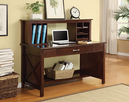 Adeline Desk & Hutch